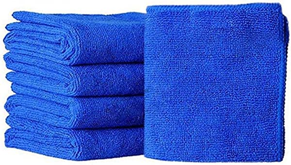 LEANO Microfiber Cloth Cleaning Towels Pack Of 5 Pieces For Fine Auto Finishes Interior Kitchen Bathroom Paper Towels