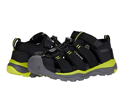 KEEN Kids Newport Neo H2 (Little Kid/Big Kid) (Black/Evening Primrose) Boys Shoes