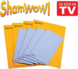 The Original Shamwow – Super Absorbent Multi-purpose Cleaning Shammy (Chamois)..