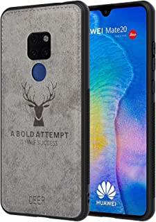 Shock-Absorption AIR Cushion Protection Coin Housse Huawei Mate 20 Pro Portable-Bleu TANGNI Coque Huawei Mate 20 Pro,Huawei Mate 20 Pro Coque Souple TPU Silicone