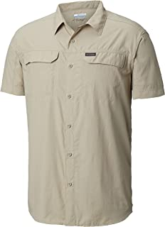 Columbia Men's Silver Ridge 2.0 Short Sleeve Shirt, UV Sun Protection, Moisture Wicking Fabric