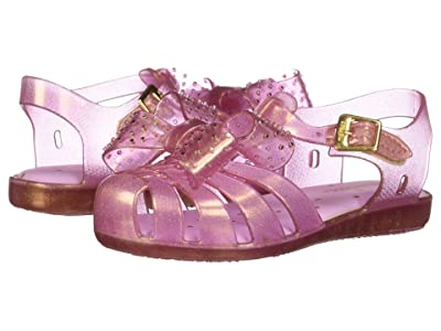 Mini Melissa Mini Aranha XIII (Toddler/Little Kid) (Pink Glitter) Girls Shoes