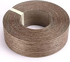 Skelang Walnut Wood Veneer Edge Banding Preglued Iron-on with Hot Melt Adhesive Edgebanding Flexible Wood Tape (2