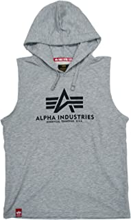 ALPHA INDUSTRIES Basic Hooded Tank T-Shirt Uomo