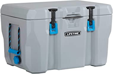 Lifetime 90820 55 Quart High Performance Cooler, Grey