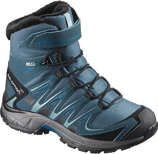 SALOMON XA Pro 3D Winter TS CSWP K, Chaussures de Randonnée Hautes Garçon
