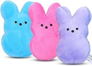3Pcs Plush Rabbit Toy - Soft Lovely Plush Toy Children Stuffed Toy Easter Bunny Stuffed Animal Bunny Toys for Kids Boys Gi...