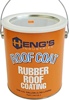 heng's rubber roof coating coverage