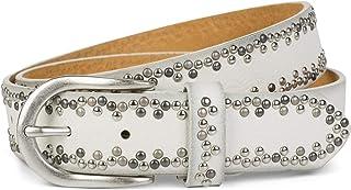 styleBREAKER Nietengürtel mit verschiedenfarbigen kleinen Nieten, Gürtel, kürzbar, Unisex 03010071