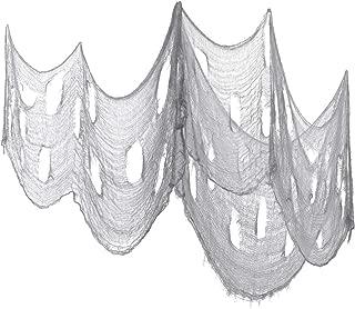 Vosarea 3PCS Halloween Creepy Cloth Drape Doorways Entryways Windows Cover Gauze Creepy Spooky Party Decor