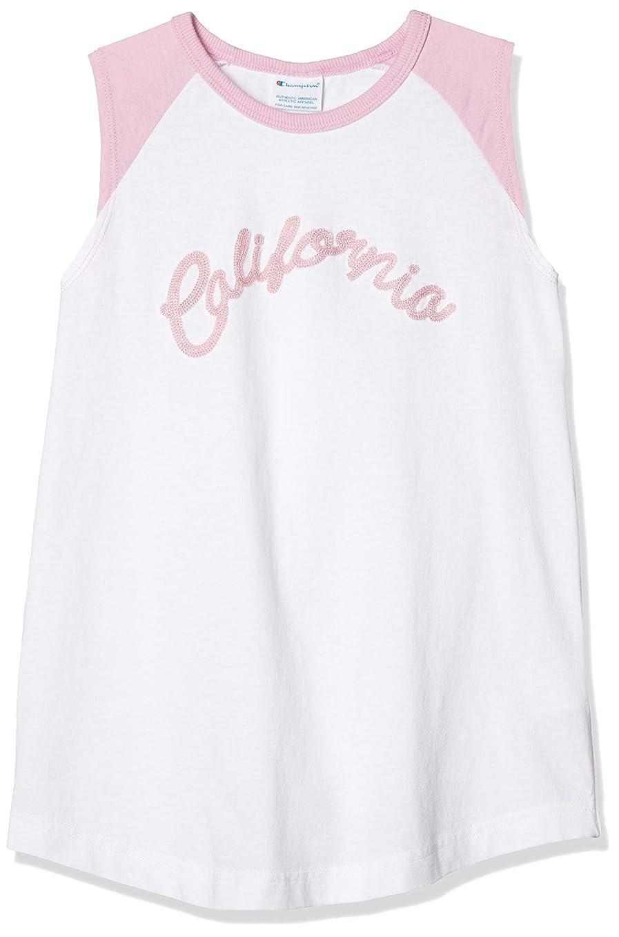 内向き教室バルコニー[チャンピオン] ノースリーブラグランTシャツ CS5000 ガールズ