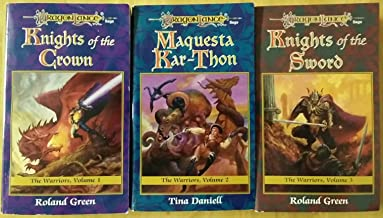 Dragonlance: The Warriors Trilogy- Books 1-3: Knights of the Crown, Maquesta Kar-Thon & Knights of the Sword