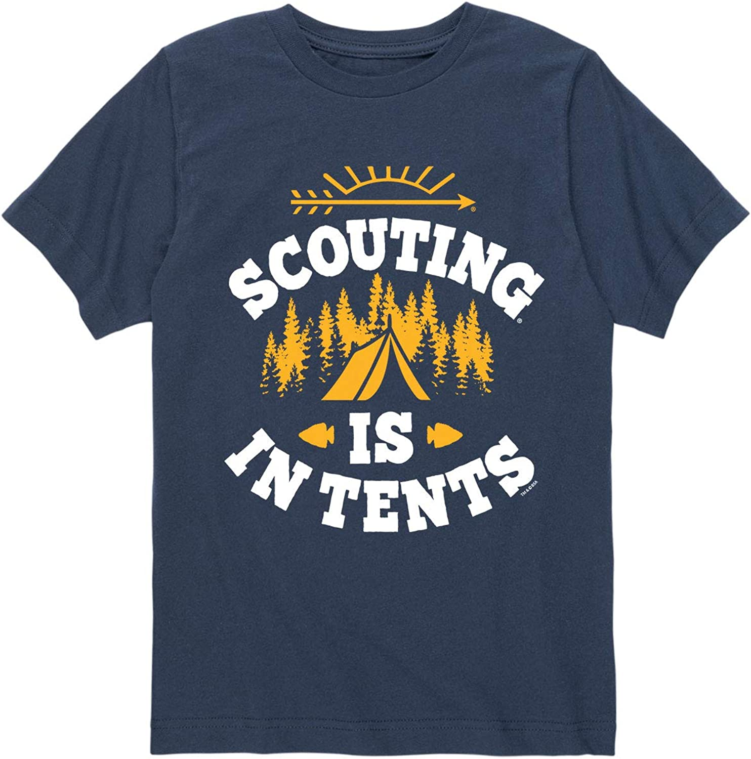 Boy Scouts of America Scouting is in Tents - Youth Short Sleeve Graphic T-Shirt