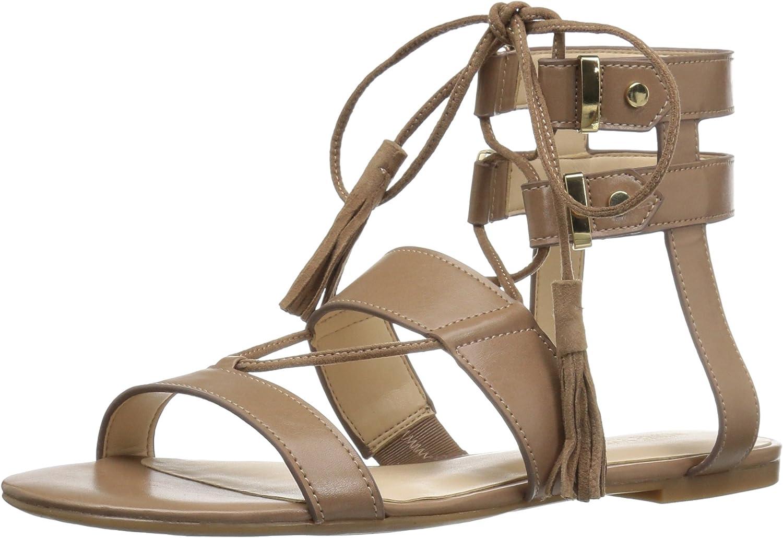 Nine West Womens Decima Patent Gladiator Sandal