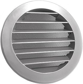 wetterschutzgitter Intelmann Wetterschutzgitter Grau Durchmesser 100 Aluminium 100 125 150 160 200