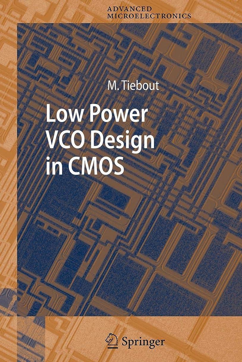 器具一時停止プロフェッショナルLow Power VCO Design in CMOS (Springer Series in Advanced Microelectronics)