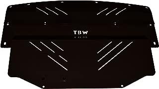BLACK TBW Aluminum Under Tray for Infiniti G35 & Nissan 350Z - Engine Skid Plate