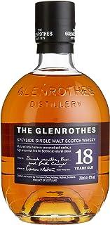 The Glenrothes 18 Jahre Speyside Single Malt Scotch Whisky, mit Geschenkverpackung, fruchtiges Aroma mit süßem Finish, 43% Vol, 1 x 0,7l