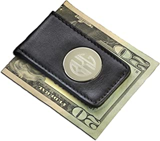 Personalized Leather Money Clip - Custom Leather Money Clip - Monogrammed Money Clip