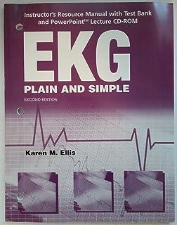 EKG PLAIN & SIMPLE W/CD & TEXT BANK (TE)