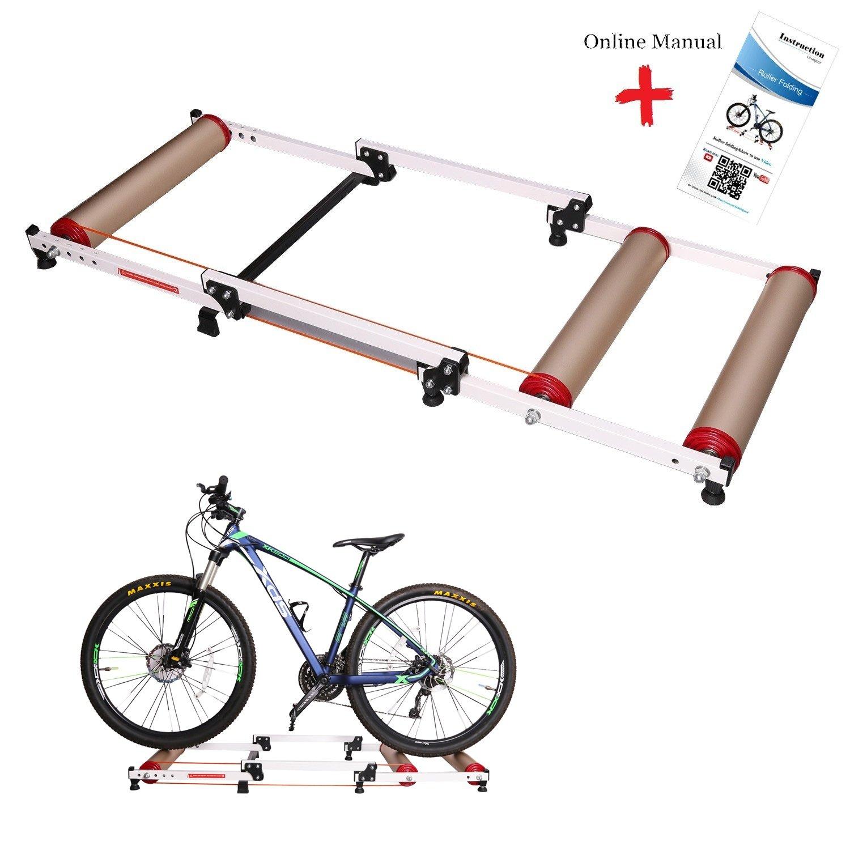 West bicicleta plegable bicicletas en el interior rodillos para ...