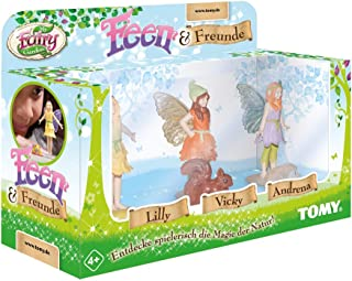 My Fairy Garden Tomy Fairies & Friends Expansion Set - Three of The Most Popular Fairies & Their Animal Companions to Comp...