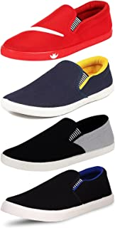 Jabra Summer Combo Pack of 4 Loafers Shoes for Men