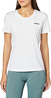 adidas Women's WO D2M SOLID T-Shirt, White/Black