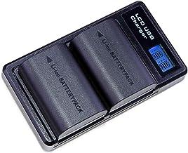 Lumos - Batería de 2040 mAh para cámaras EOS R 7D 6D 5D II III IV 5DS 80D 70D 60D XC10 XC15 con Infochip