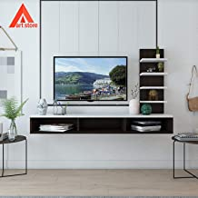 Aart Store Set Top Box Stand TV Entertainment Unit Wall Mounted Shelf Racks For Home Living Room Floating Shelves For Bedroom