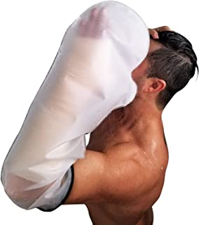 FIGHTECH Waterproof Arm Cast Cover for Shower   Reusable Dry Bag to Keep Casts and Bandages Safe and Dry   Watertight Protection for Broken or Injured Arms