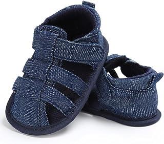 IMJONO Chaussures Garçon, Été Décontractée Chaussettes à Lacets Douces pour Filles garnies Sandales de Plage