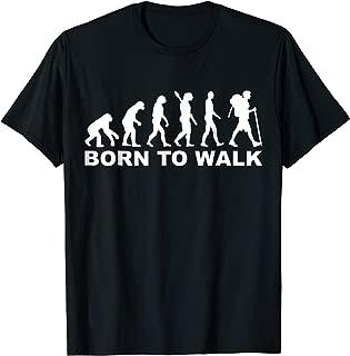 Evolution born to walk T-Shirt