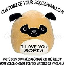 Customized Squishmallow Original Kellytoy Pug The Prince 13