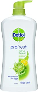 Dettol Profresh Shower Gel Citrus Splash Body Wash, 950ml