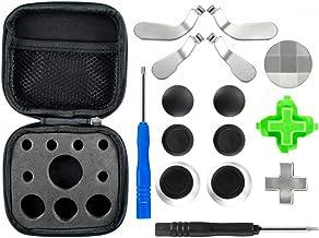 Kit de accesorios para joystick de PS4 /Xbox – fundas para botones, thumbsticks, 2destornilladores – para Xbox One S Elite PS4Slim Pro Nintendo Switch
