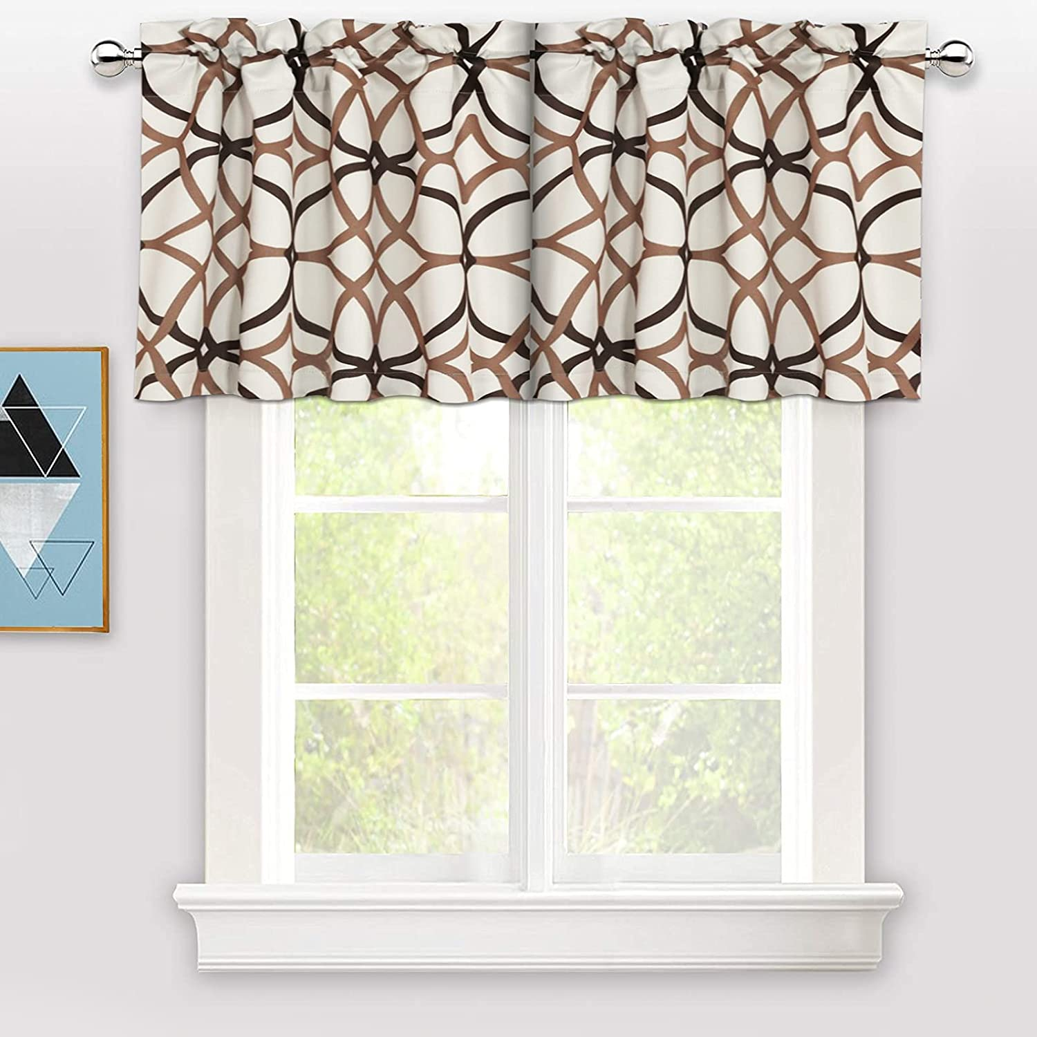 Indefinitely FUPAH Valance Curtains for Kitchen Blackout Clearance SALE Limited time f Valances - Curtain