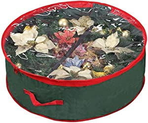 Primode Christmas Wreath Storage Bag 48