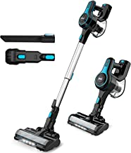INSE N5 Cordless Vacuum Cleaner Lightweight Powerful Suction Stick Vacuum 1.2 L Large Dust Cup Handheld Vac for Cleaning H...