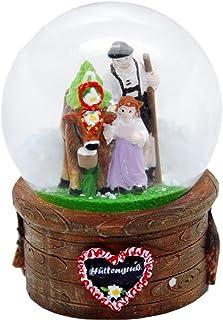 VIENNA SNOWGLOBE Schneekugel Echtglaskugel Fast wie echter Schnee Motiv 8 cm Ballerina