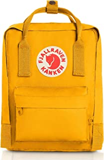 Kanken Mini Classic Backpack for Everyday (Warm Yellow)