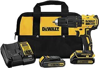 DEWALT DCD778C2 20V MAX Brushless 1/2 in. Compact Cordless Hammer Drill/Driver Kit
