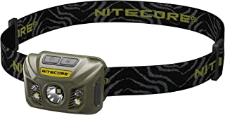 NITECORE NU30 White/Red/High Cri Output Rechargeable Headlamp (Army Green