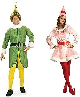 elf couple costume