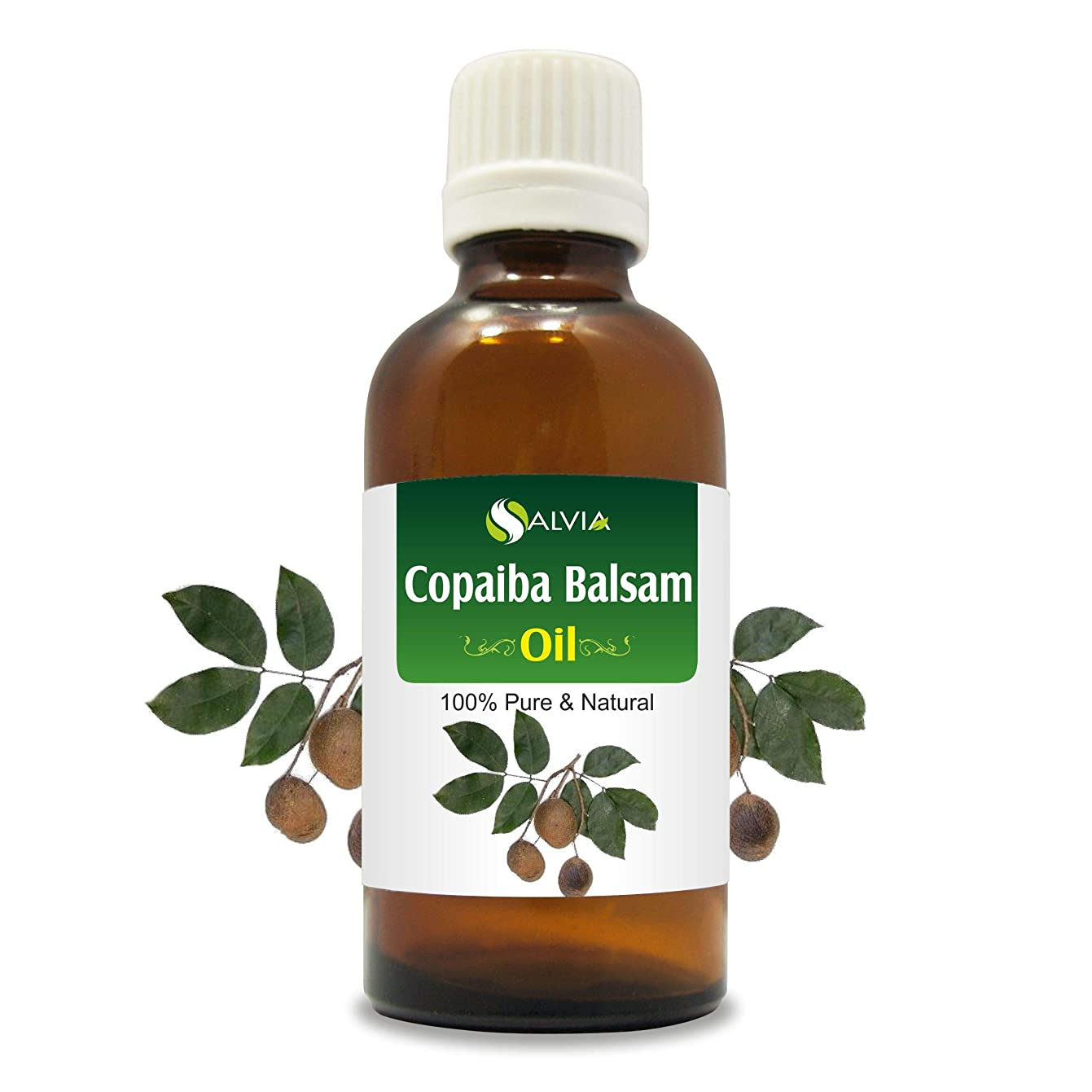 に対応裁判官ジャンプするCopaiba Balsam (Copaifera Reticulata Syn C. Officinalis) 100% Natural Pure Essential Oil 50ml