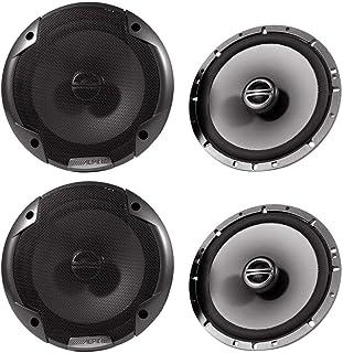"""(2) Pairs Alpine Spe-6000 6.5"""" 2 Way Pair of Car Speakers Totalling 960 Watts Peak / 240 Watts RMS"""