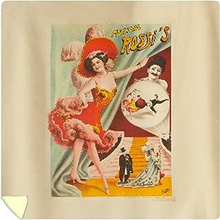 Lantern Press Rossi's Vintage Poster France c. 1890 61411 (88x88 Queen Microfiber Duvet Cover)