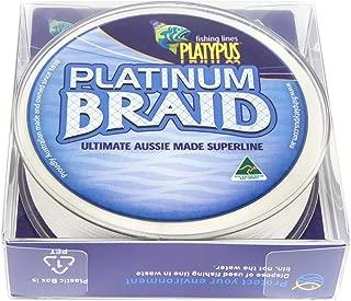 Platypus Platinum Fishing Braid (White) - World's Best Since 1898!