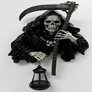 Bella Showrooms Gifts & Decor Grim Reaper Holding Candle Lantern