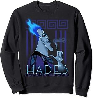 Disney Hercules Hades Geometric Portrait Sweatshirt